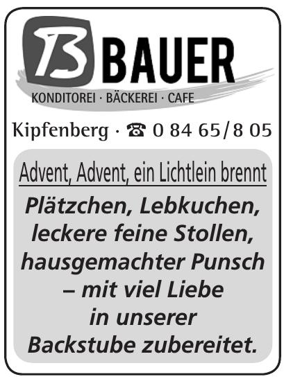 Bauer - Konditorei · Bäckerei · Café