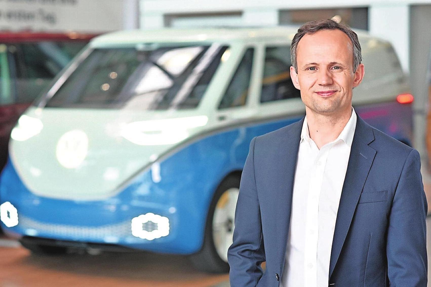 Alexander Hitzinger ist Geschäftsführer der Volkswagen Autonomy GmbH. Foto: © VW