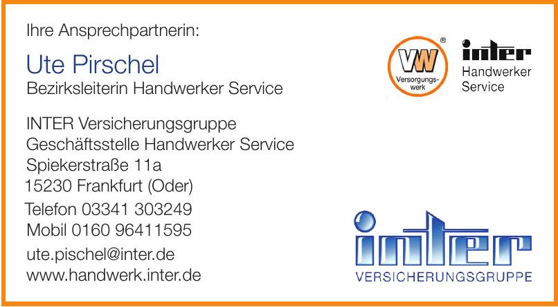 INTER Versicherungsgruppe Geschäftsstelle Handwerker Service