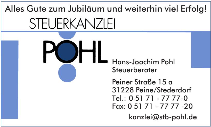 Steuerkanzlei Pohl Hans-Joachim Pohl Steuerberater
