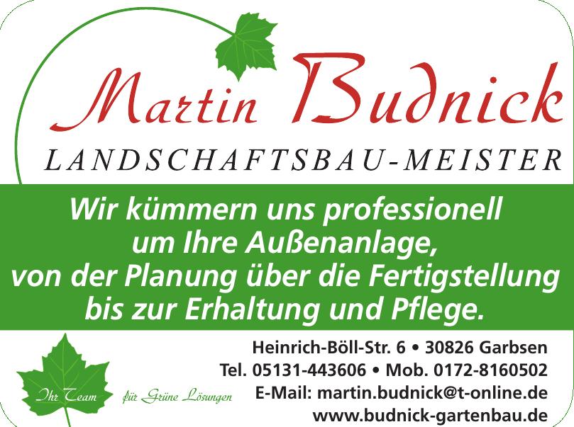 Martin Budnick Landschaftsbau-Meister