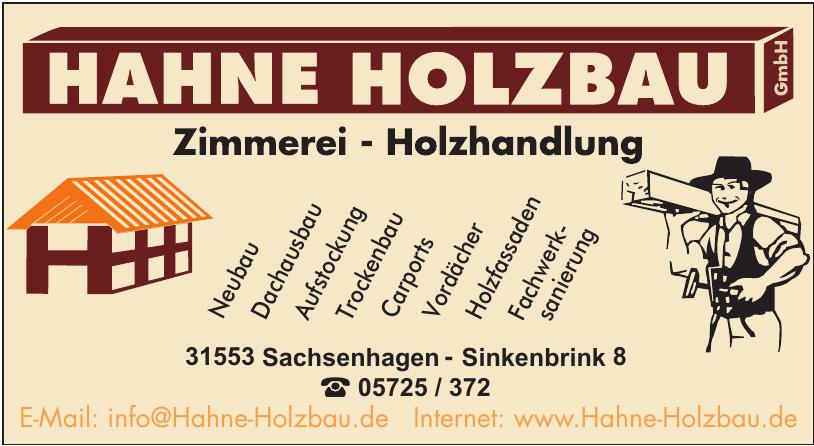 Hahne Holzbau GmbH
