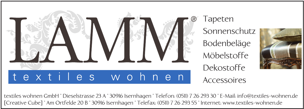 Lamm textiles wohnen GmbH