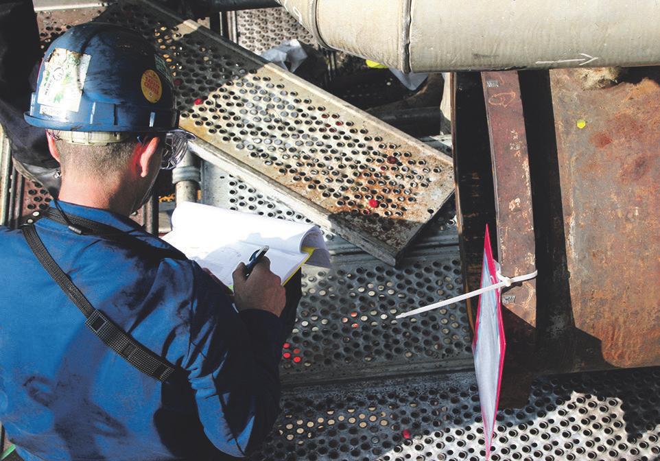 Bauteile werden überprüft und falls nötig repariert oder ausgetauscht Bild: von Hoensbroech