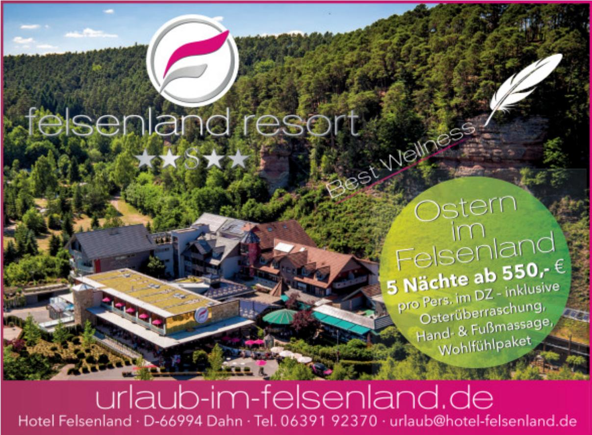 Hotel Felsenland