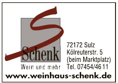 Weinhaus Schenk
