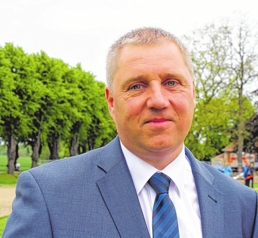 Guntram Jung, Bürgermeister der Stadt Klütz. Foto:OZ-Archiv