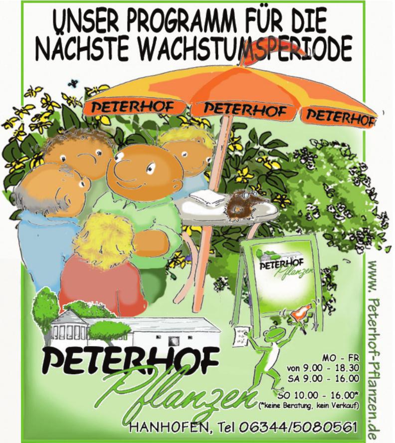 Peterhof Pflanzen