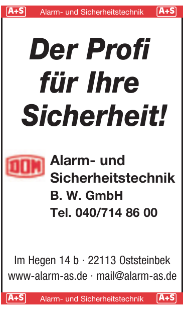 Alarm- und Sicherheitstechnik B. W. GmbH