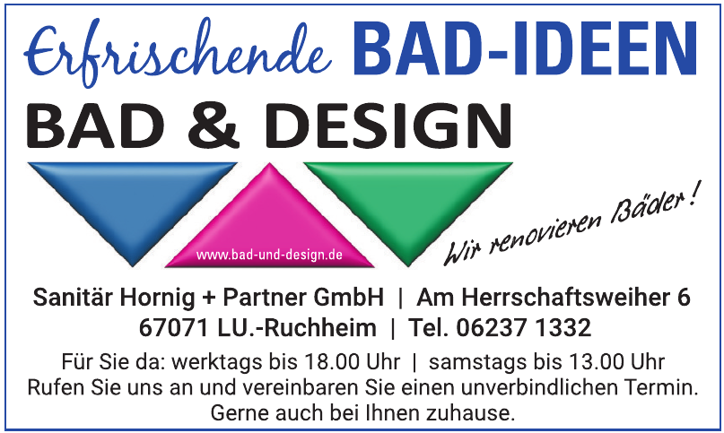 Bad & Design Sanitär Hornig & Partner GmbH