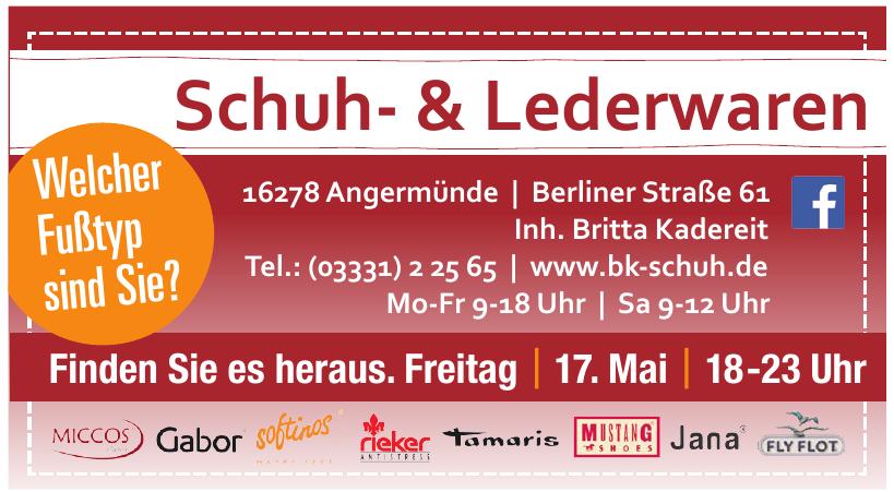 Schuh- & Lederwaren