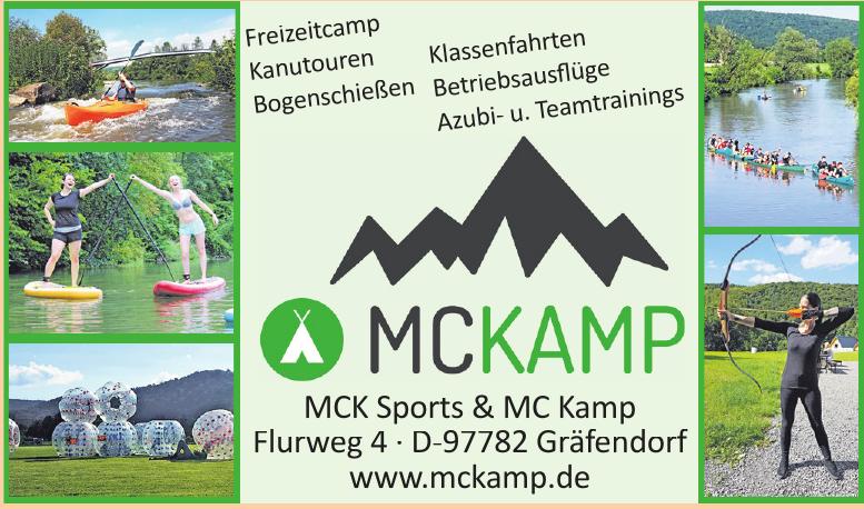 MCK Sports & MC Kamp