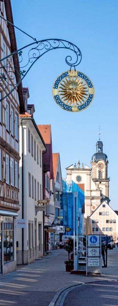 Die Marktstraße ist am Wochenende<br>Schauplatz vieler Aktionen. Foto: Berger