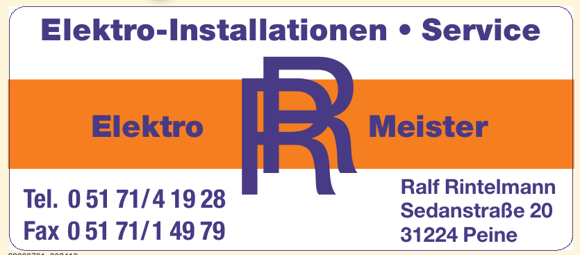 RR Elektro Meister Ralf Rintelmann