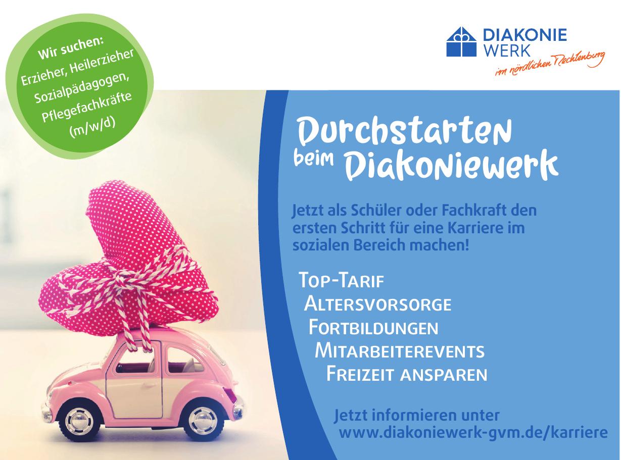 Diakoniewerk im nördlichen Mecklenburg gGmbH