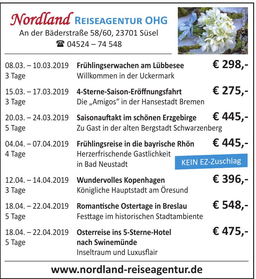 Nordland Reiseagentur OHG