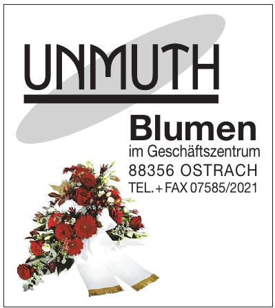 Unmuth Blumen im Gesch§aftzentrum