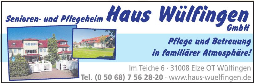 Senioren- und Pflegeheim Haus Wülfingen GmbH