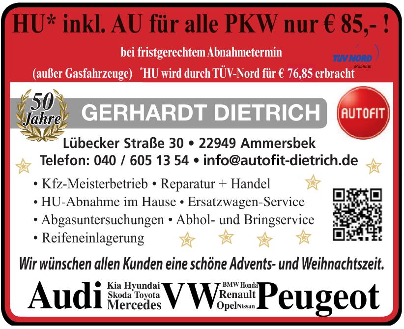Autofit Gerhardt Dietrich