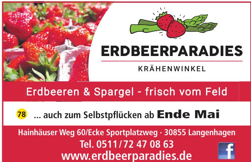 Erdbeerparadie Krähenwinkel