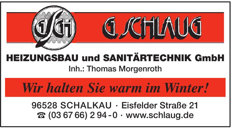 G. Schlaug Heizungsbau und Sanitärtechnik GmbH