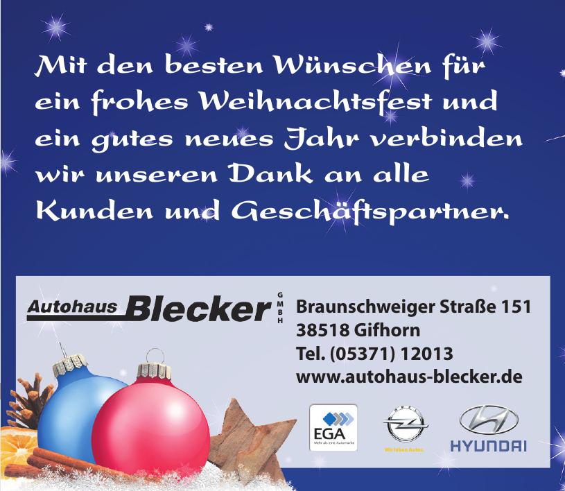 Autohaus Blecker GmbH