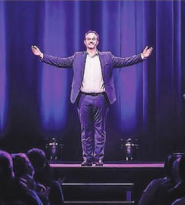 Der Kabarettist, Autor und Stimmenimitator René Steinberg moderiert den Samstagabend.