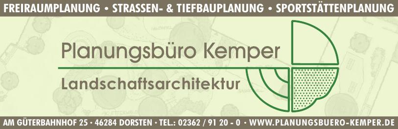 Planungsbüro Kemper Freiraumplanung