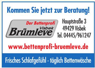 Visbeck Brümleve