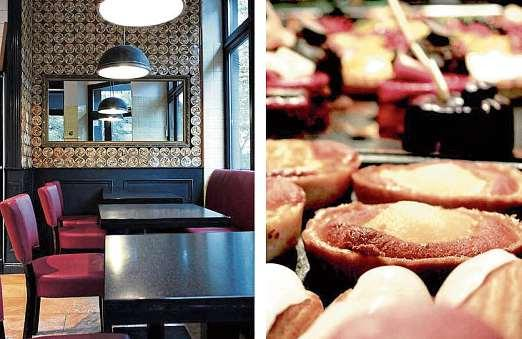 Verweilen und genießen – boulangerie artisanale Restez. FOTO: RESTEZ