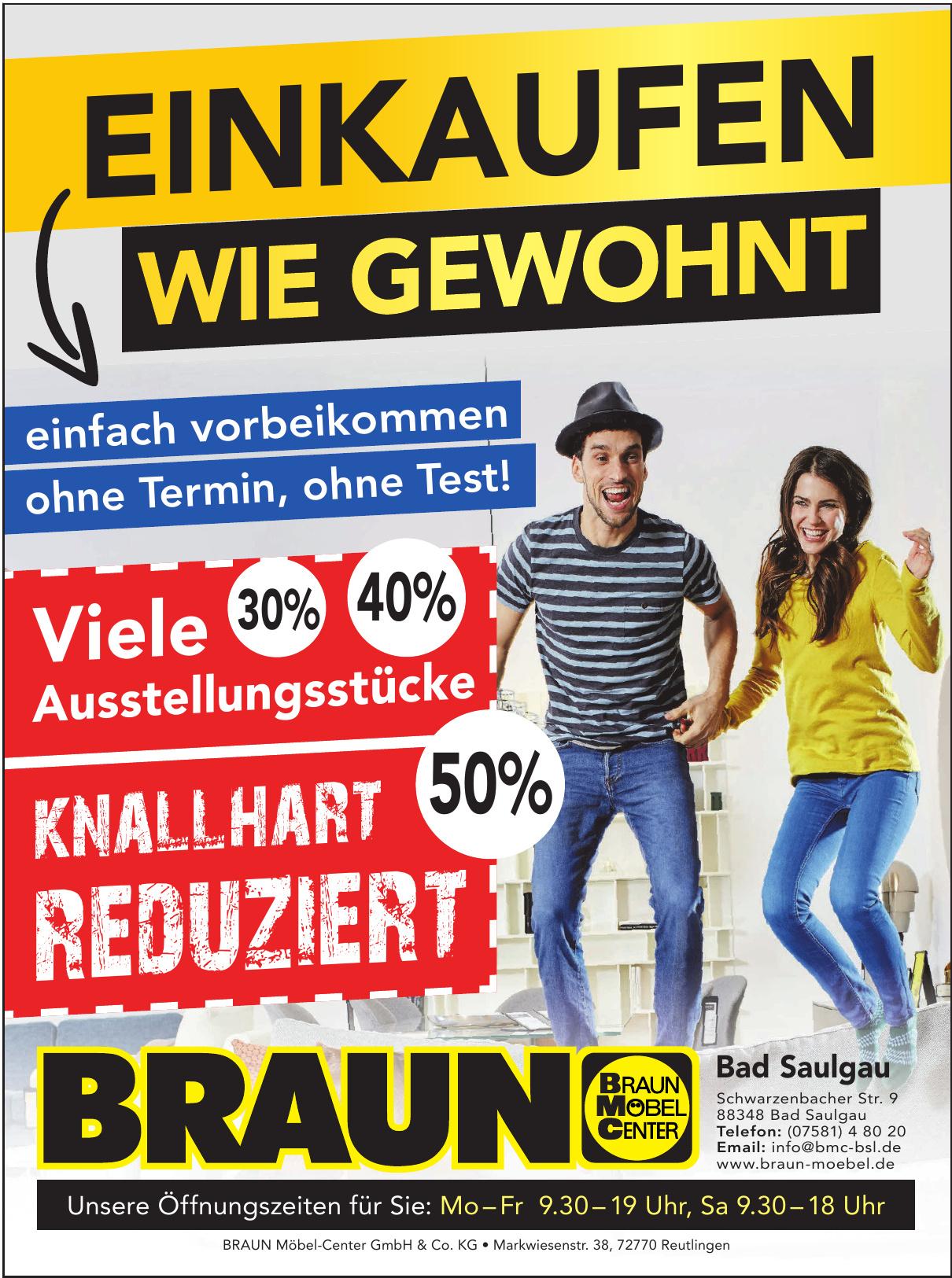 BRAUN Möbel-Center GmbH & Co. KG