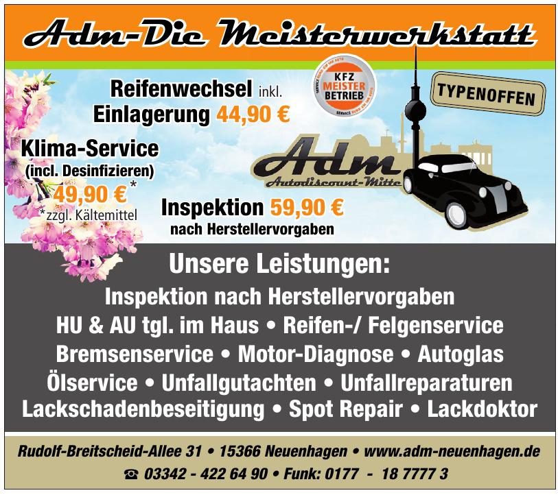 Adm-Die Meisterwerkstatt