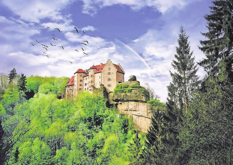 Burg Rabenstein im Ahorntal. Fotos: Die Burgenstraße e. V.