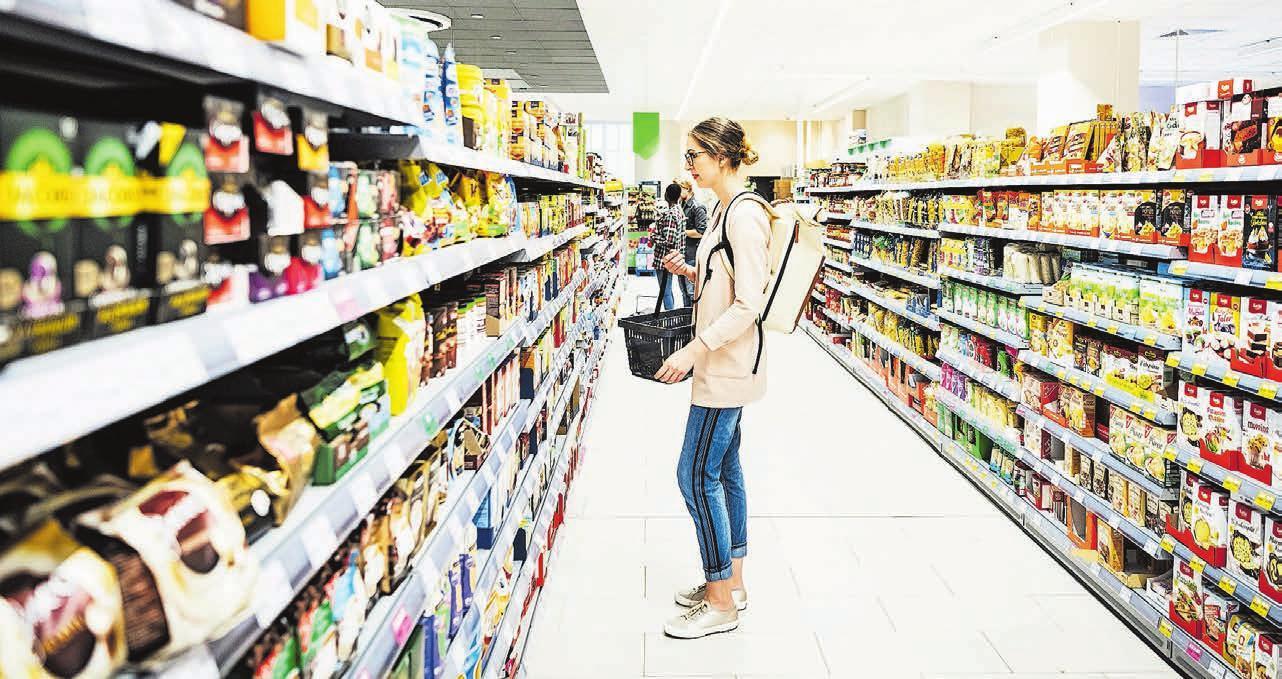 8% der in der Schweiz erzeugten Umweltverschmutzung geht auf Speisen zurück, die täglich konsumiert werden. Bild: Getty images