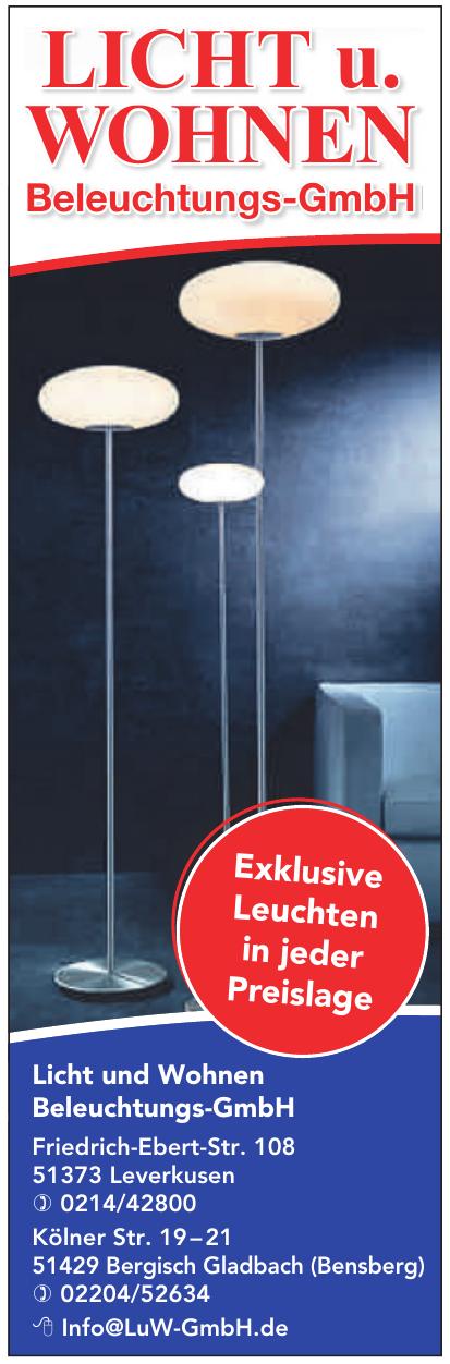 Licht und Wohnen Beleuchtungs-GmbH
