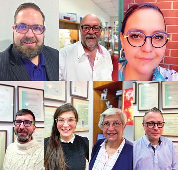 Das Team von Keese Optik & Akustik in Buchholz Foto: Keese