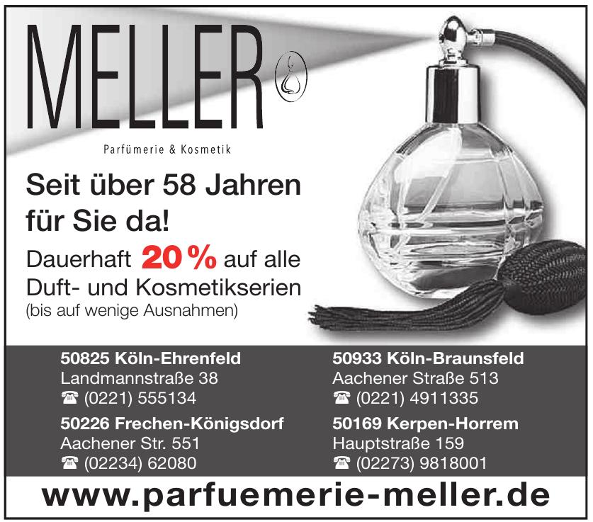 Parfümerien & Kosmetik Meller