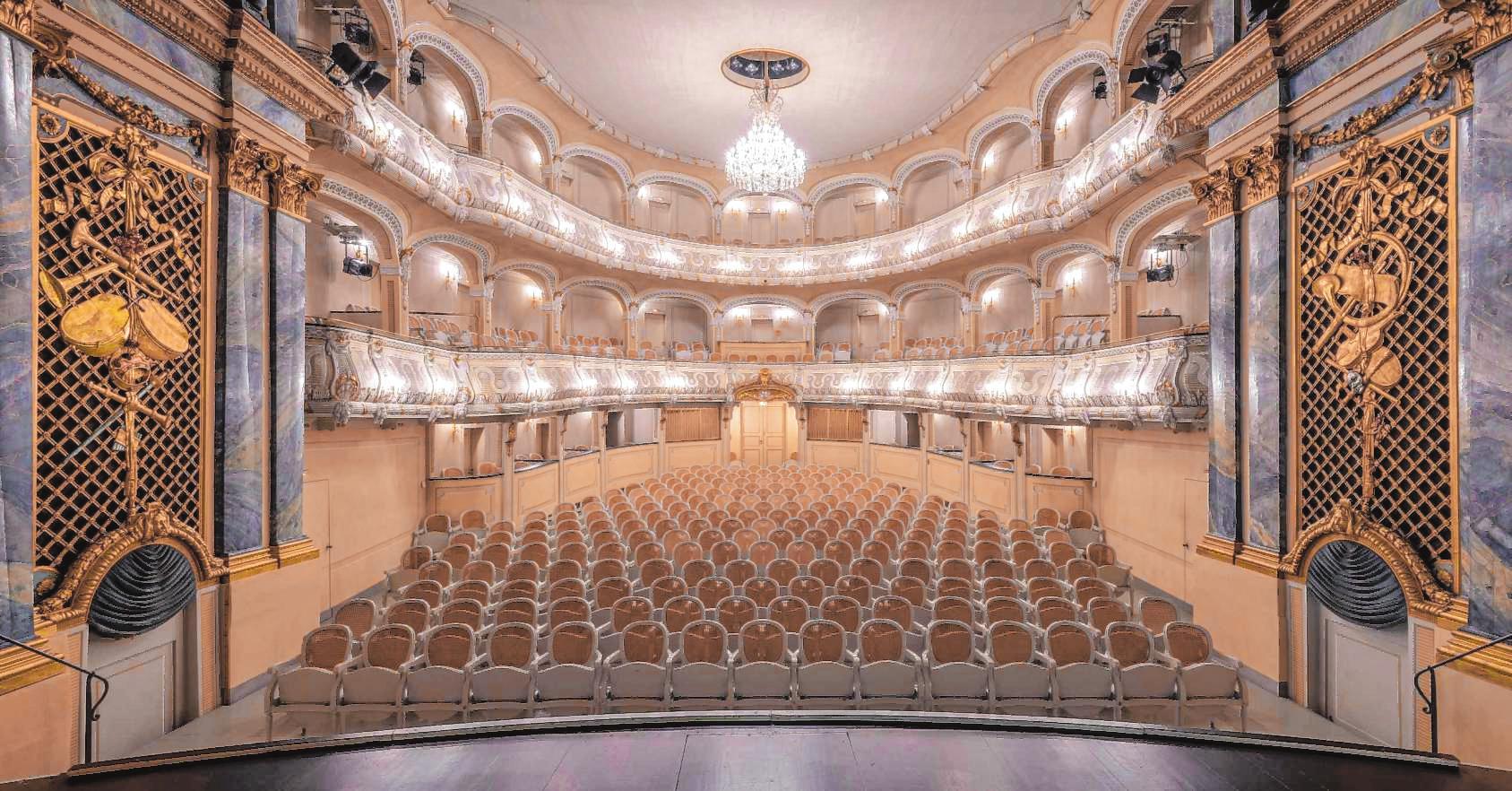 Zwar nicht in vollem Umfang, aber dennoch mit einem beachtlichen Programm finden im Oktober unter anderem im Rokokotheater die Schwetzinger SWR-Festspiele statt. BILD: SCHWERDT