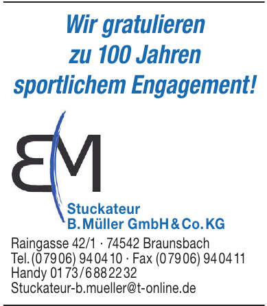 Stuckateur B. Müller GmbH & Co. KG