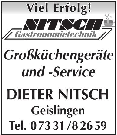 Dieter Nitsch Gastronomietechnik