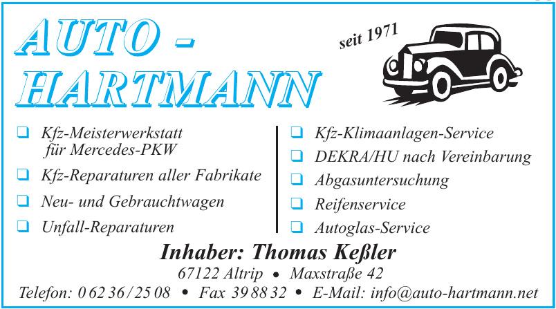 Auto Hartmann