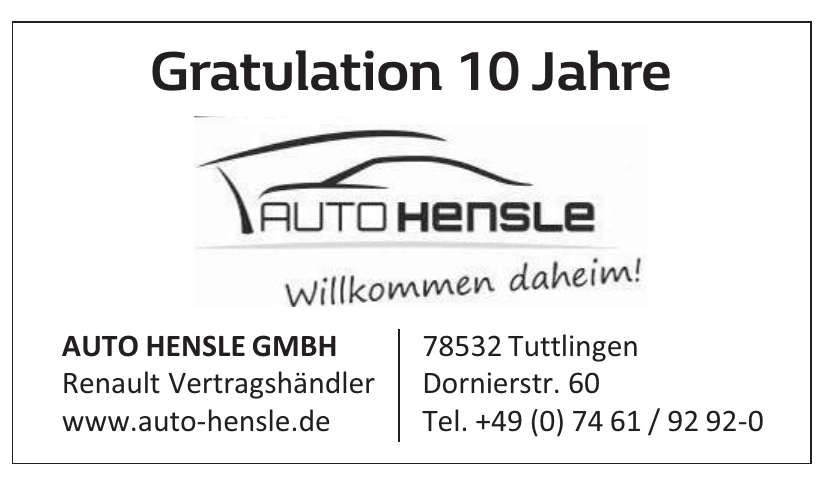 Autohaus Hensle GmbH