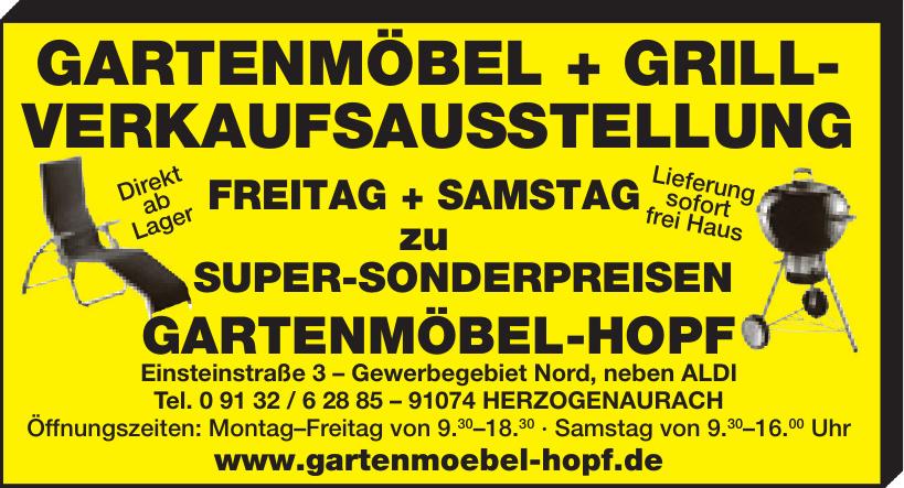 Gartenmöbel + Grill-Verkaufsausstellung