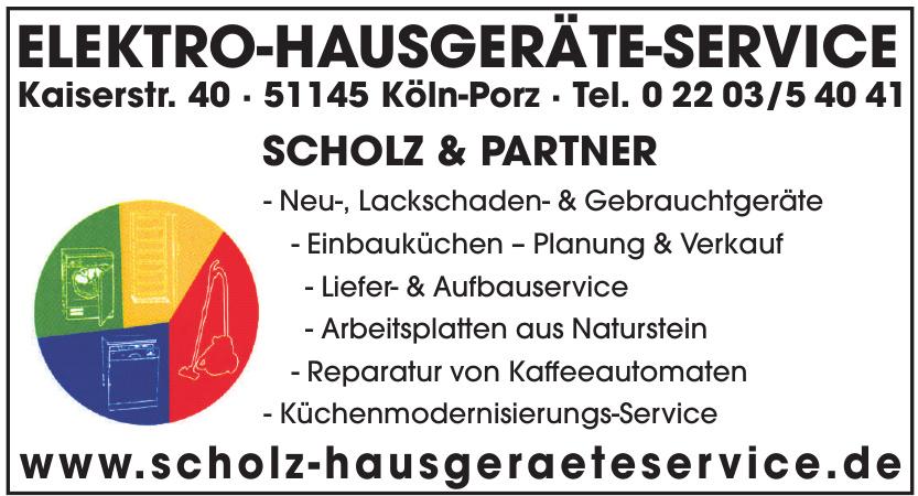 Elektro - Hausgeräteservice Scholz & Partner