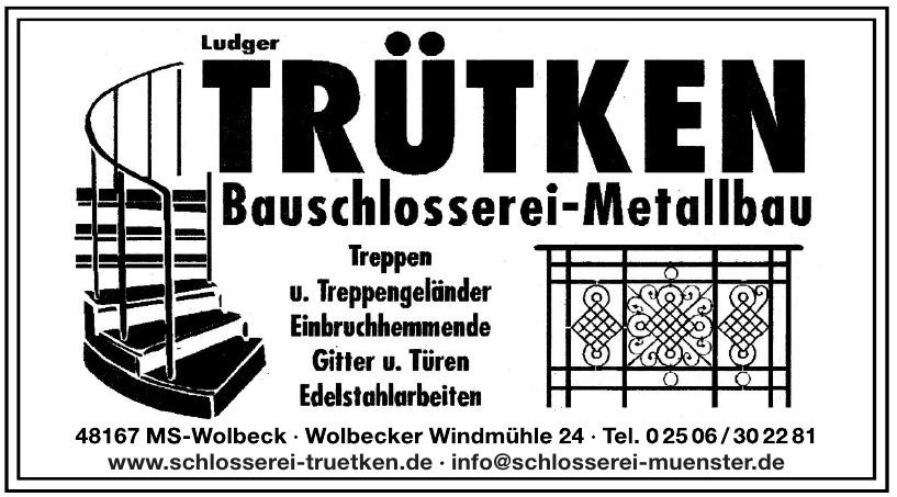 Ludger Trütken - Bauschlosserei