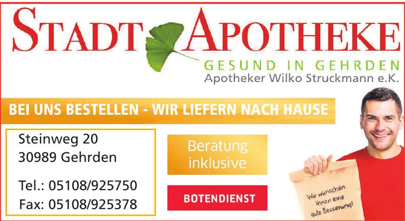 Stadt Apotheke - Apotheke Wilko Struckmann e.K.