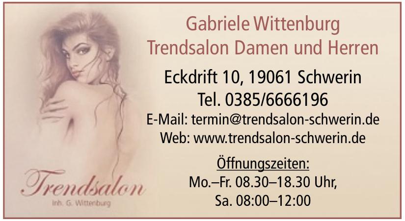 Trendsalon Damen und Heren Gabriele Wittenburg