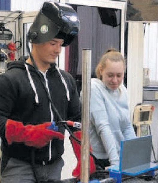 """""""Virtuelles"""" Übungsschweißen (Foto) oder ganz reales Training sind möglich.Foto: DVS"""