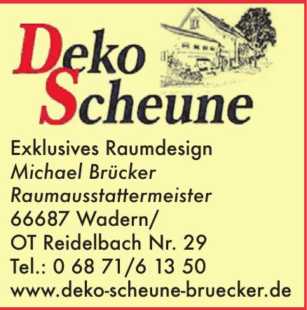 Deko Scheune