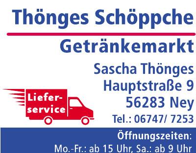 Thönges Schöppche - Getränkemarkt